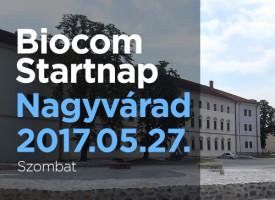Biocom Startnap Nagyváradon, május végén