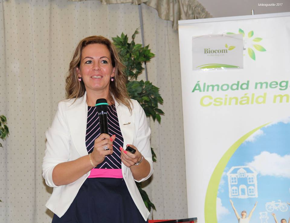 Komporday Annamária az új emberek elindításában segédkezett