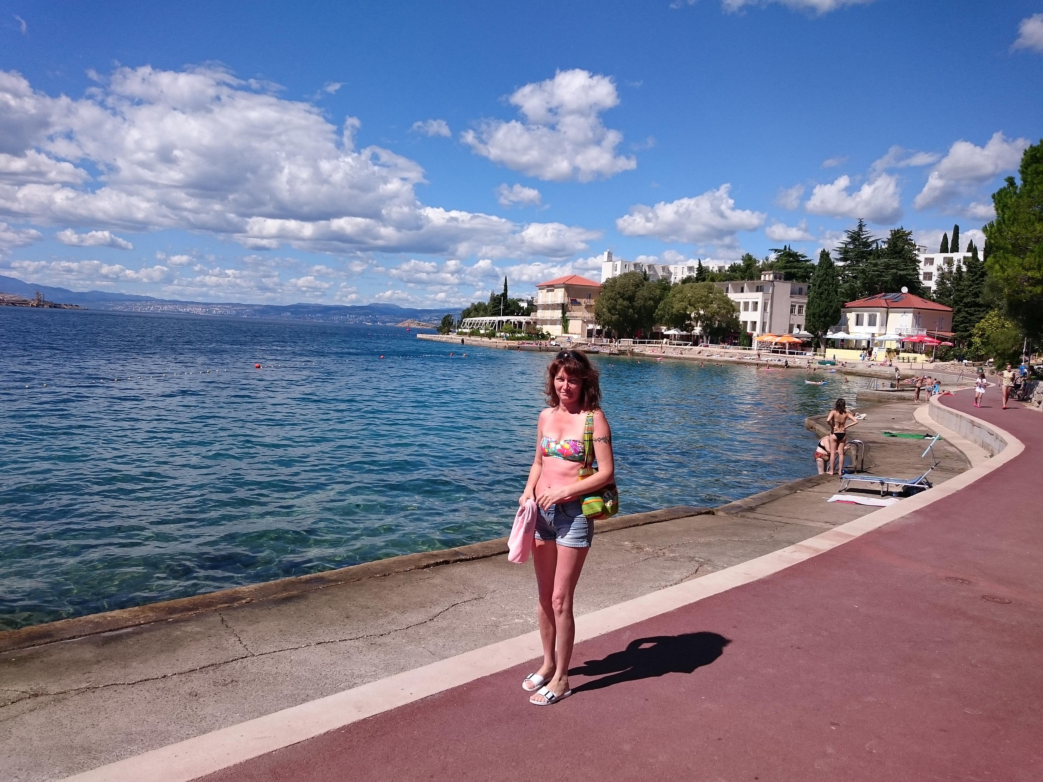 2016 nyár Horvát tengerpart