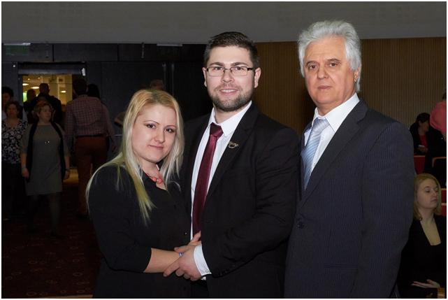 Pálfi Katalin párjával, Kis Gergellyel a Vass-ágról