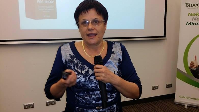 Dr Pollák Éva a Regenorról
