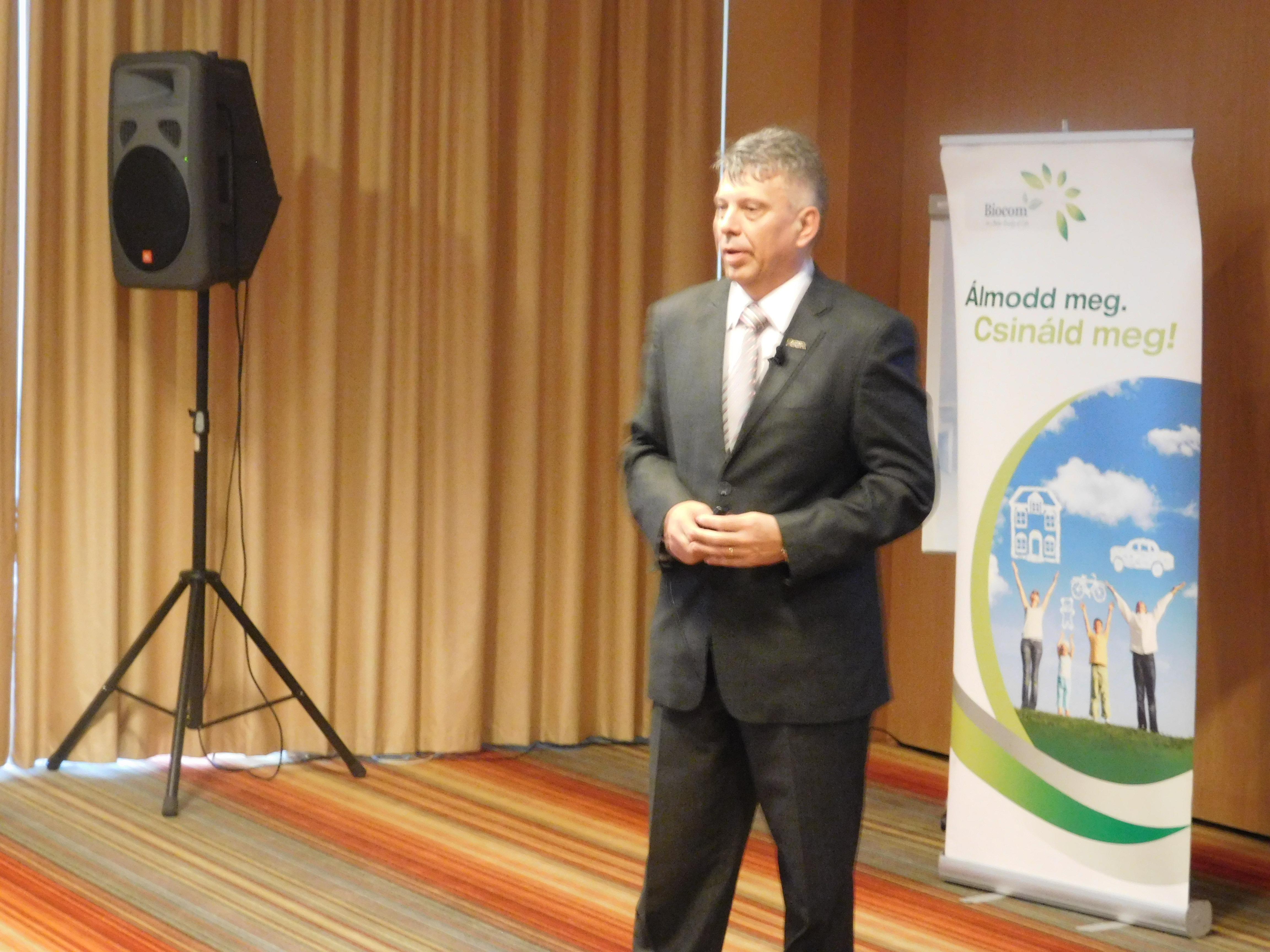 Harmat Csaba a marketingtervről, a pénzvisszaosztásról beszélt