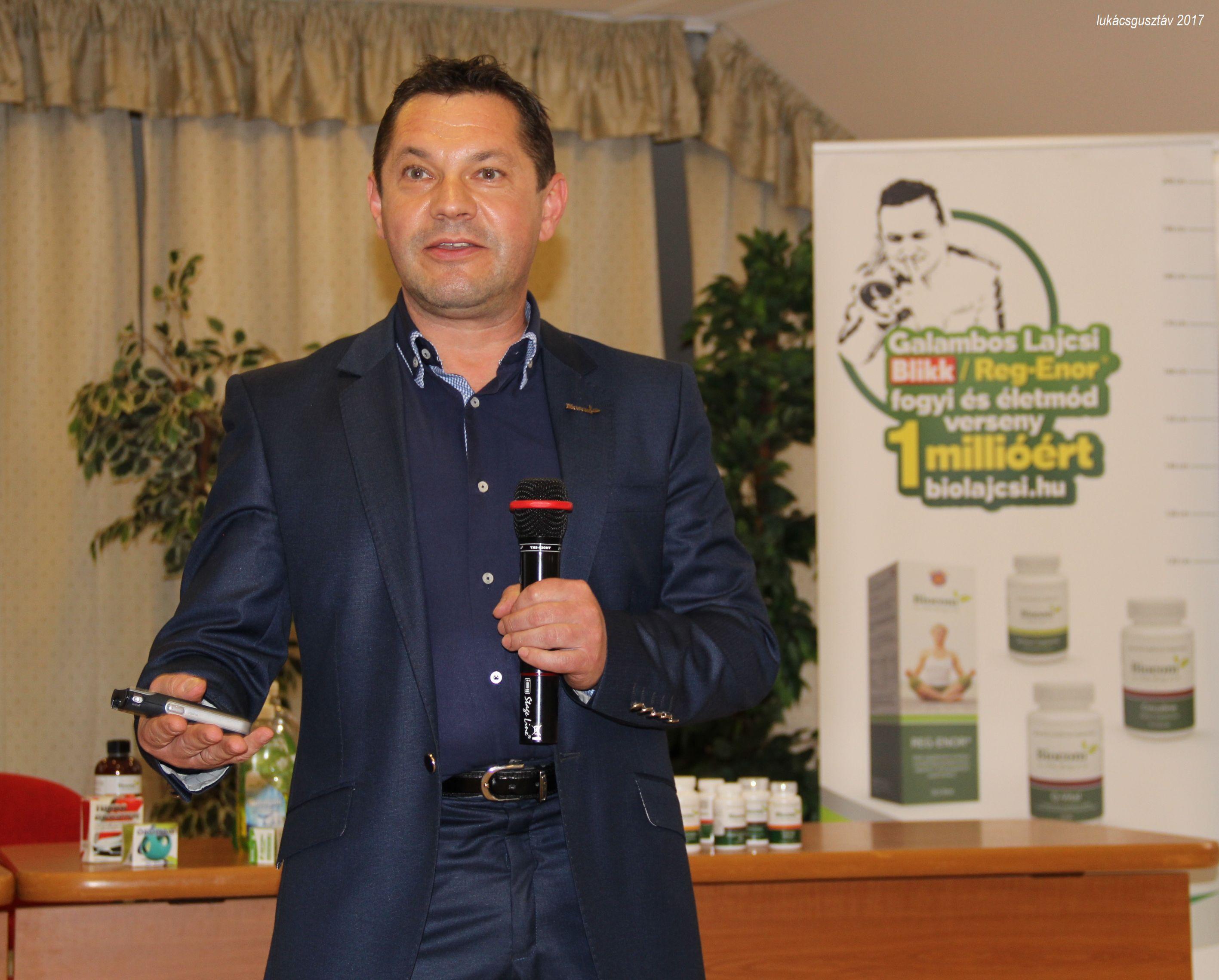 Sinka Gyula a versennyel is motiválta a hallgatóságot