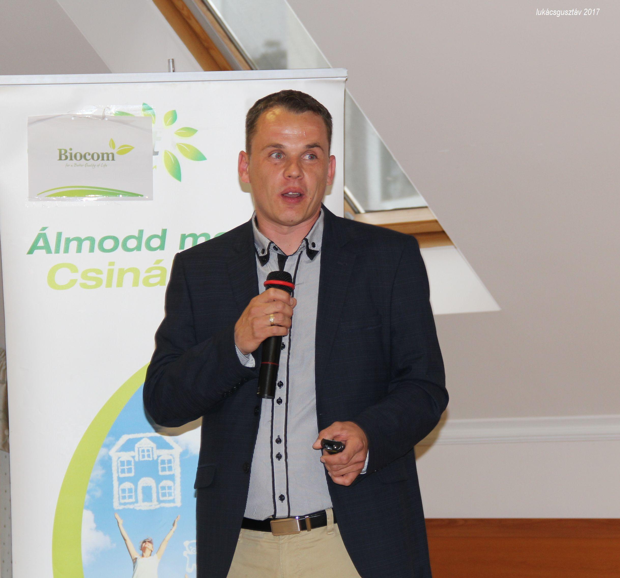 Tasnádi Zsolt közérthetően adta tovább az életmódprogramról szóló információkat