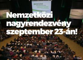 Nemzetközi nagyrendezvény szeptember 23-án!