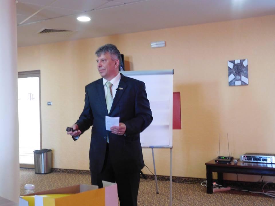 Harmat Csaba az időgazdálkodás fontosságát hangsúlyozta
