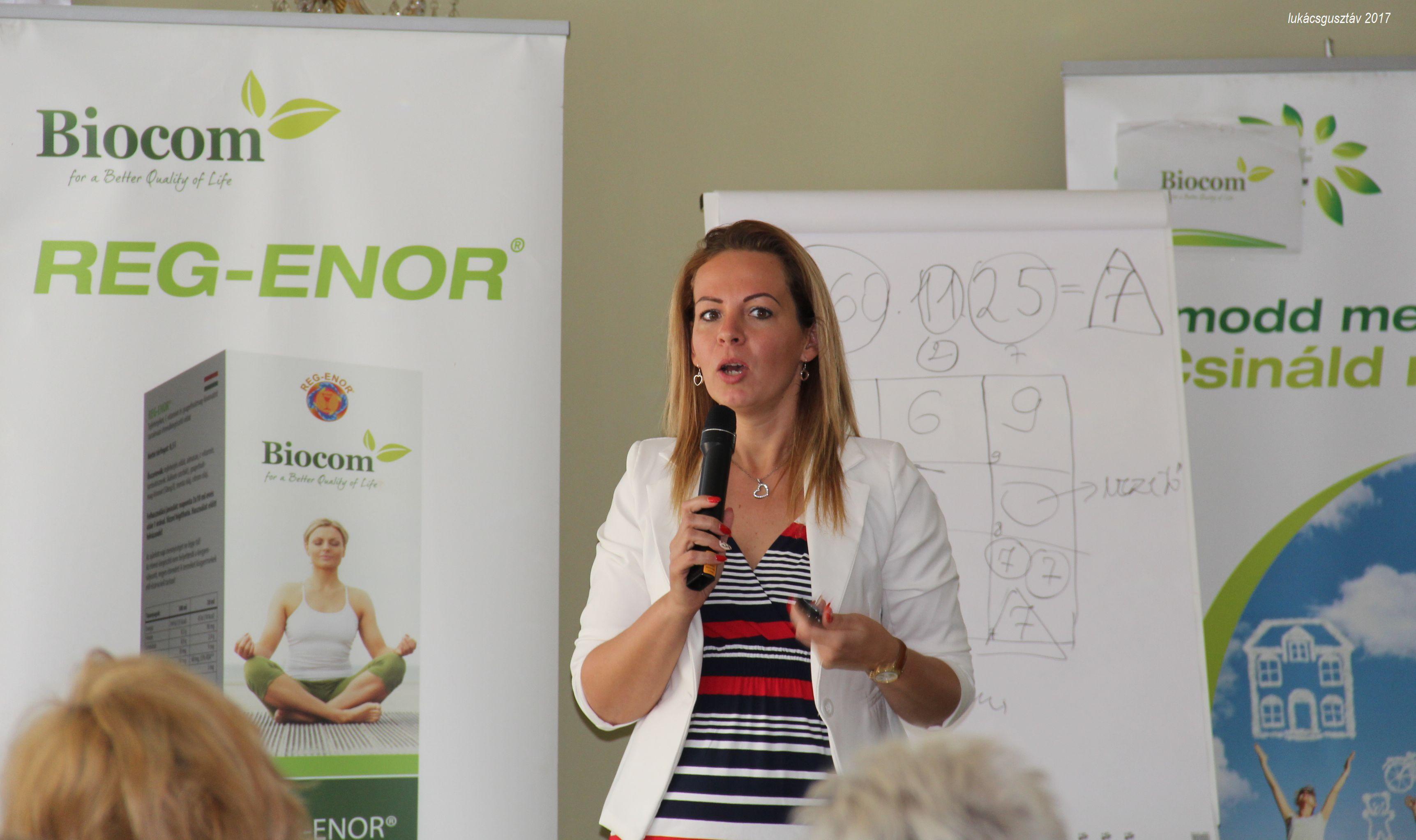 Komporday Annamária a kulcsemberségről tartott gyakorlati előadást