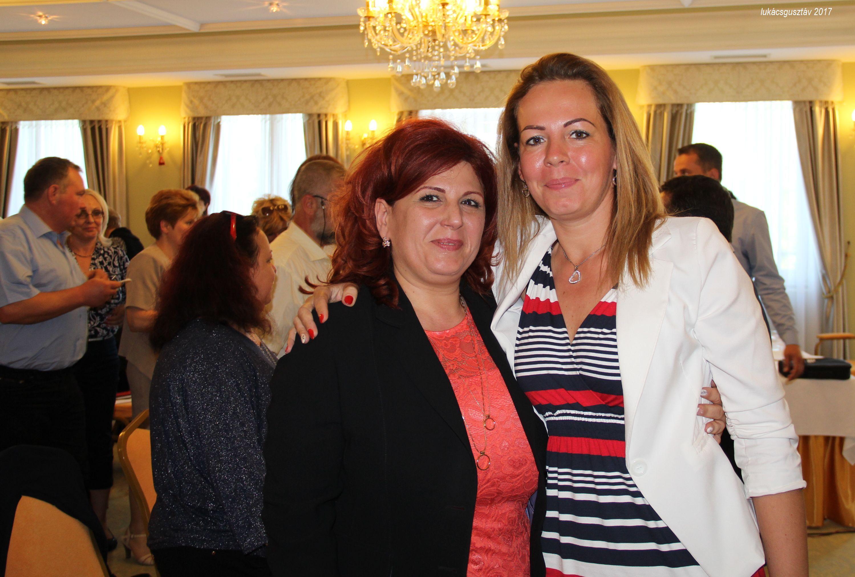 Ágvezetők egymás közt: Molnárné Andrea és Komporday Annamária