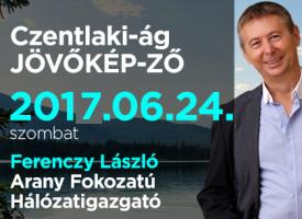 Czentlaki-ág JÖVŐKÉP-ZŐ szombaton