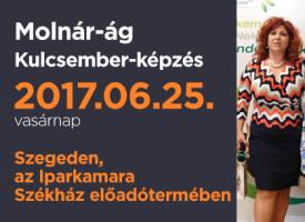 Kulcsember-képzés vasárnap Szegeden, a Molnár-ágon