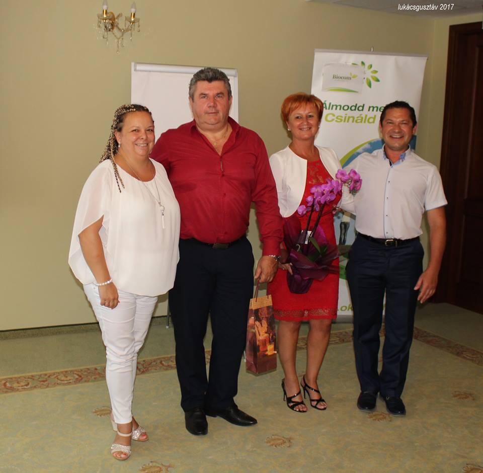 Ágvezetők egymás között, avagy meghívók és vendégelőadók. Sinka Tímea, Czentlaki Zoltán, Czentlaki Beatrix és Sinka Gyula.