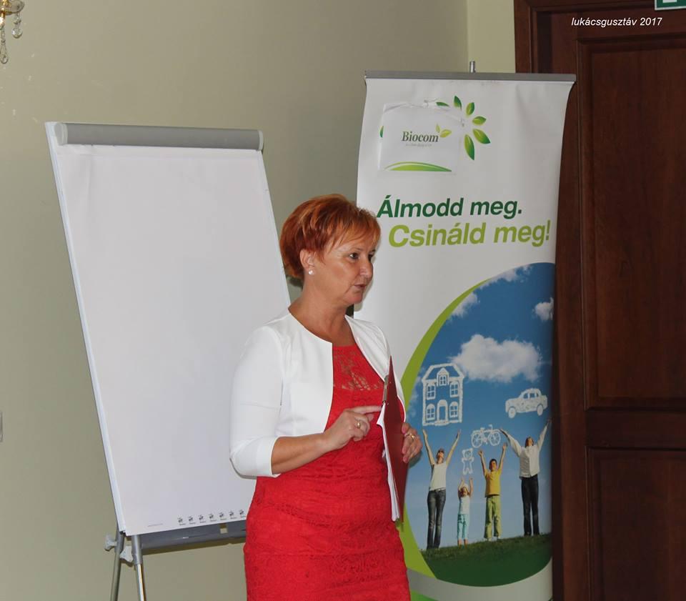 Czentlaki Beatrix annak idején feladta az állását a Biocom-haladás kedvéért