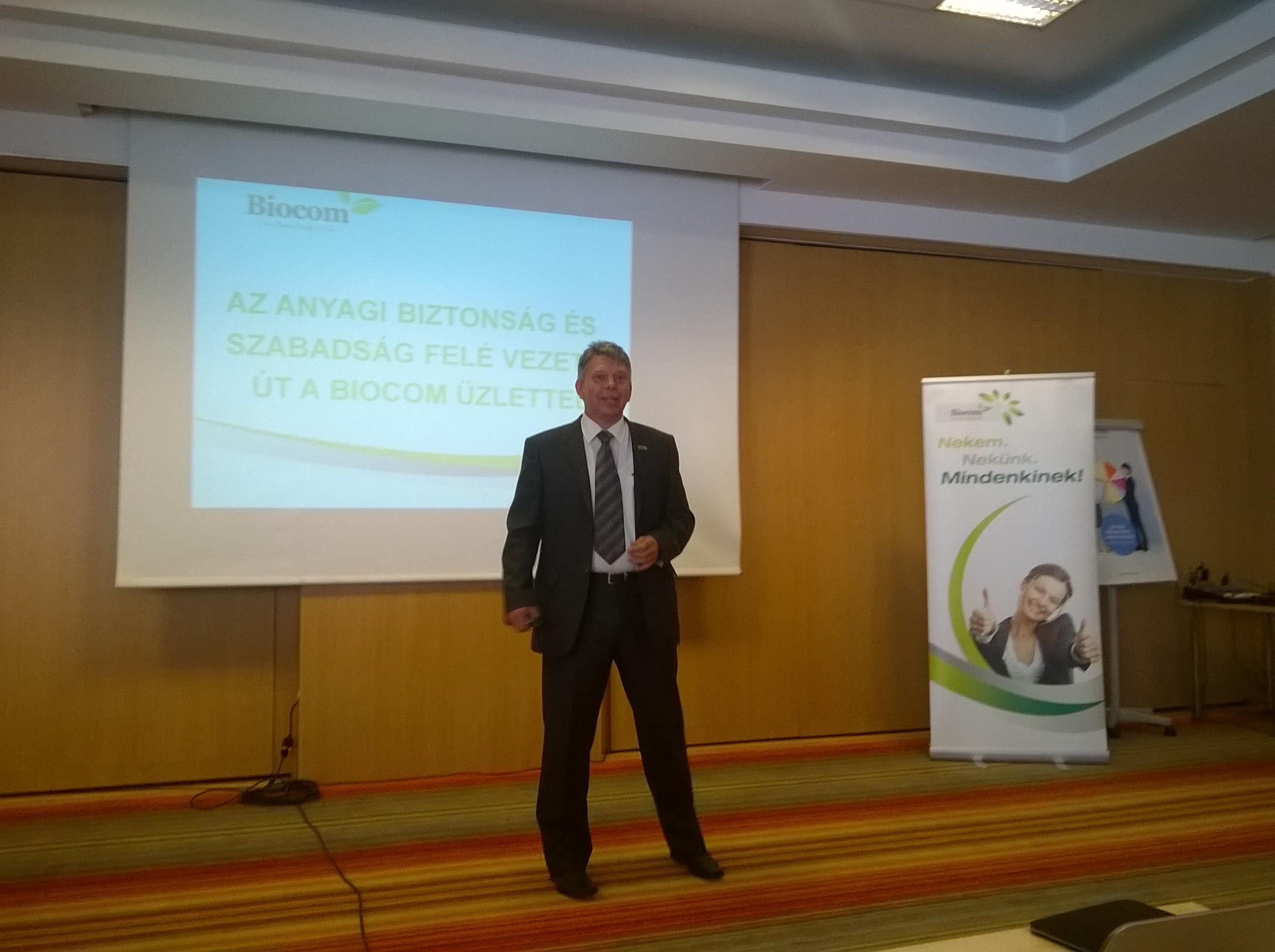 Harmat Csaba, szerbiai Ezüst HV, aki sikeres előadást tartott, s ragyogó beszámolót is írt