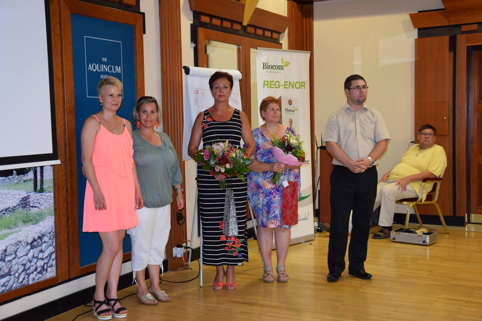 Új hálózatvezetők a csapatokban: Gaál Tamásné Andrea, Viczena Andrea és Janyik Gabriella.
