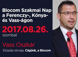 Biocom Szakmai Nap a Ferenczy-, Kónya- és Vass-ágon