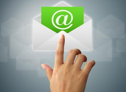 Új e-mail cím a rendelésnél