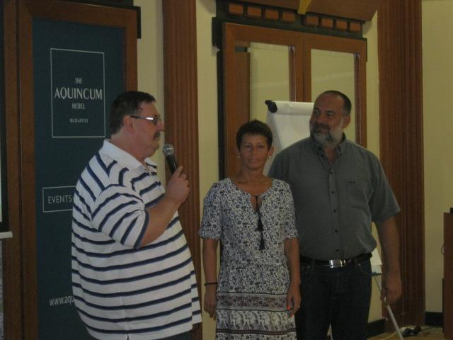 Kovács István (Kovi) hálózatvezető, Némethné Máté Ilona és férje, Imre
