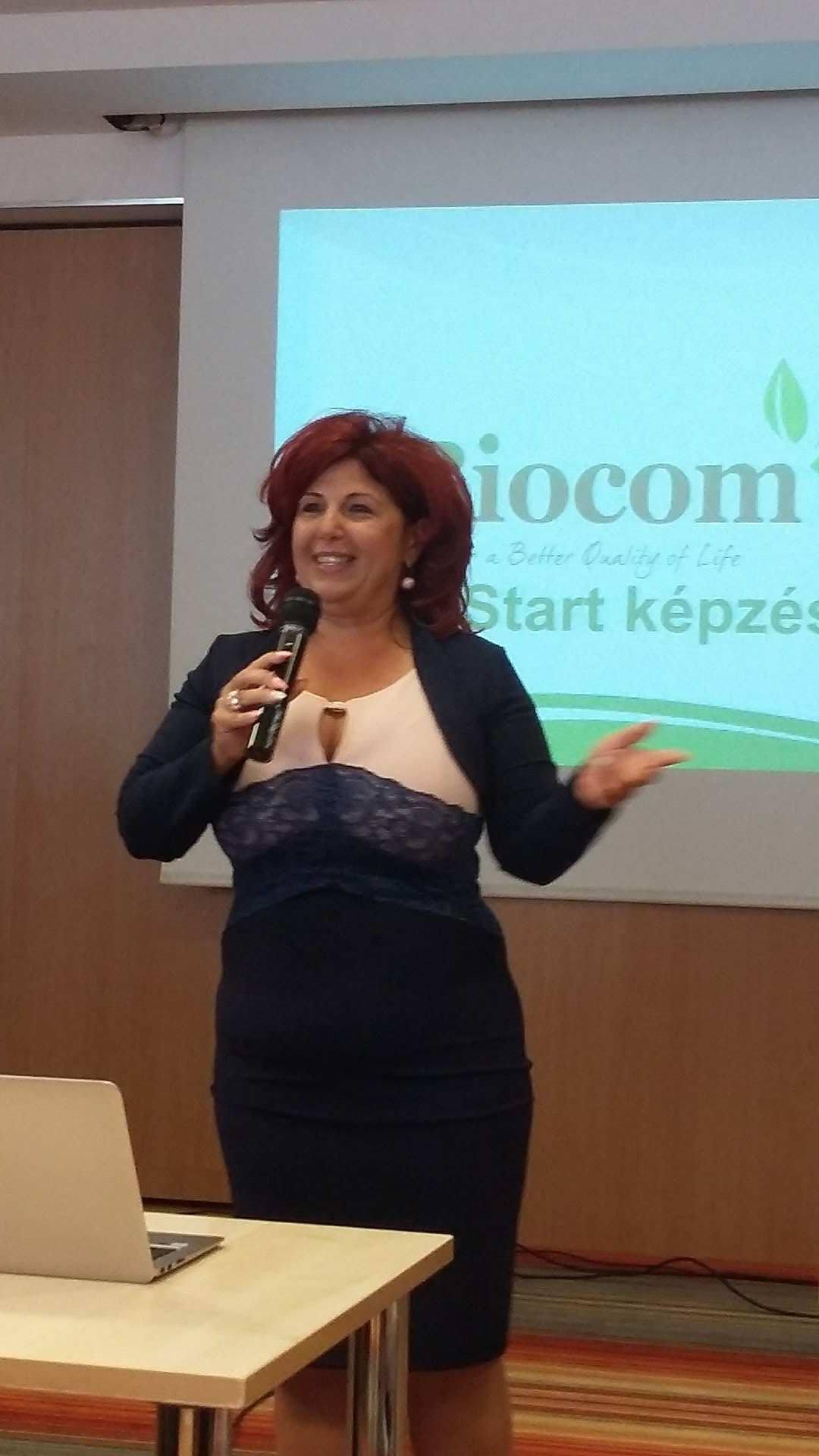 Hogyan építsd fel az életed a Biocommal? Molnárné Andrea ágvezető színesen és szívesen elmondta…