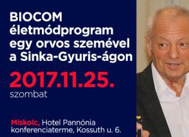 BIOCOM életmódprogram egy orvos szemével a Sinka-Gyuris-ágon