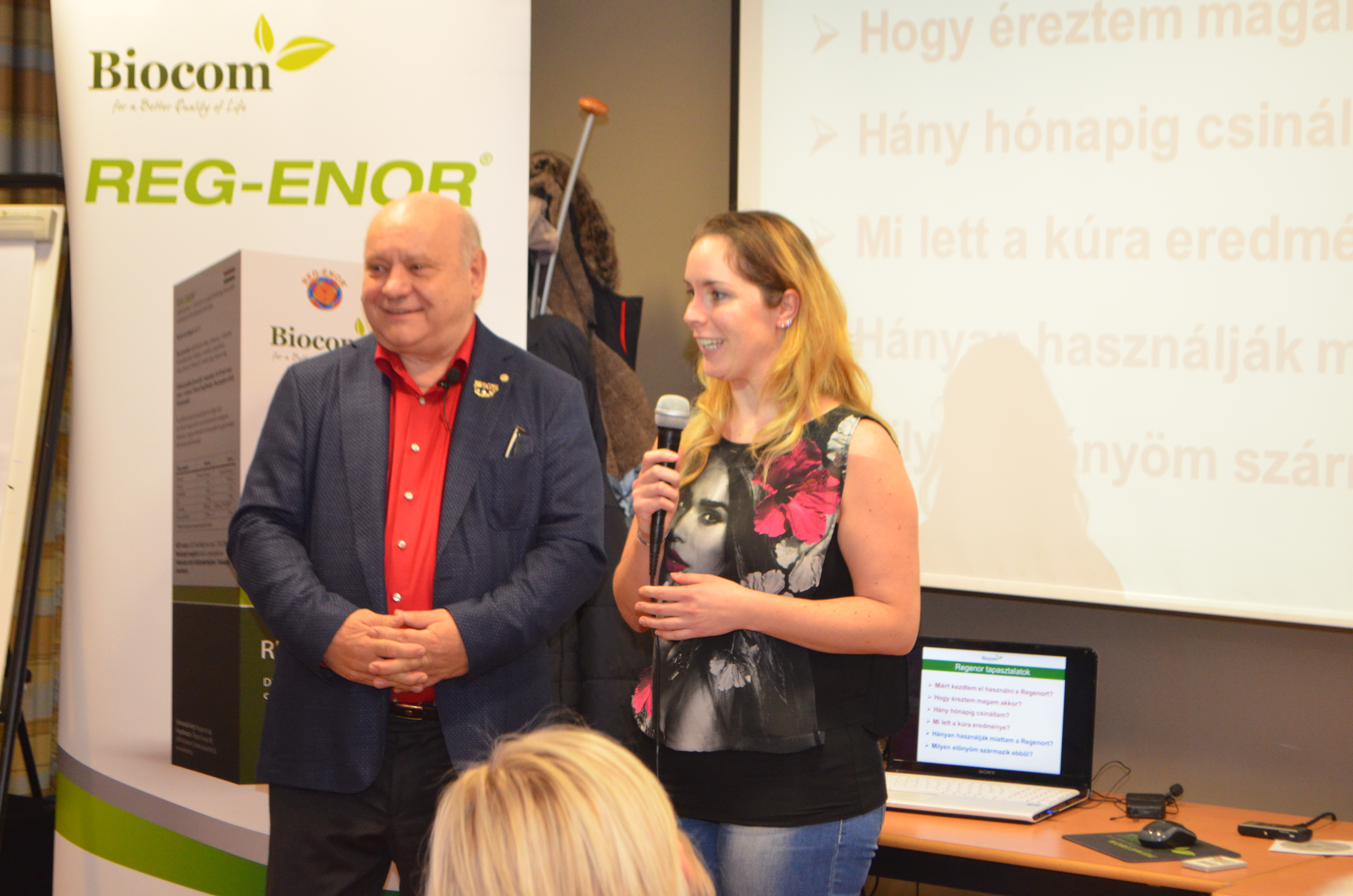 Szeghalminé Barbara Tóth Zoli csoportját képviselte