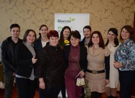 A hála és a gazdagodás jegyében indították az évet Csíkszeredában a Biocom erdélyi hálózatépítői