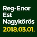 Reg-Enor Est Nagykőrösön Szabó Sigfriddel és Galambos Lajcsival