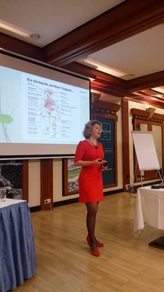 Dr. Kodori Judit ismét hasznos előadást tartott, nem véletlenül ismerték el a tanítói-gyógyítói munkáját tavaly év végén