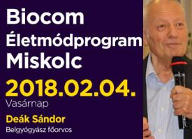 Biocom Életmódprogram egy orvos szemével Miskolcon