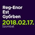 Reg-Enor Est Győrben Szabó Sigfriddel