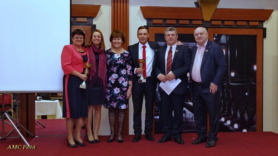 Országos elismerés Krizsán Lászlónk és Szentpáli Elenának