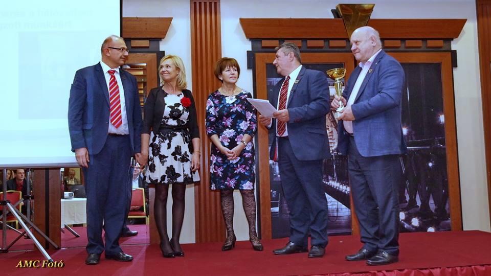 A cégvezetés elismerését kapta Tóth Zsizsi és Jámbor Gábor is