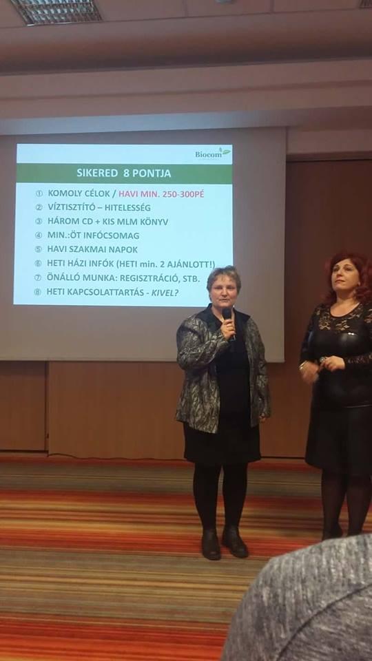Horvát Marianna a munkaeszközökről adott tájékoztatást