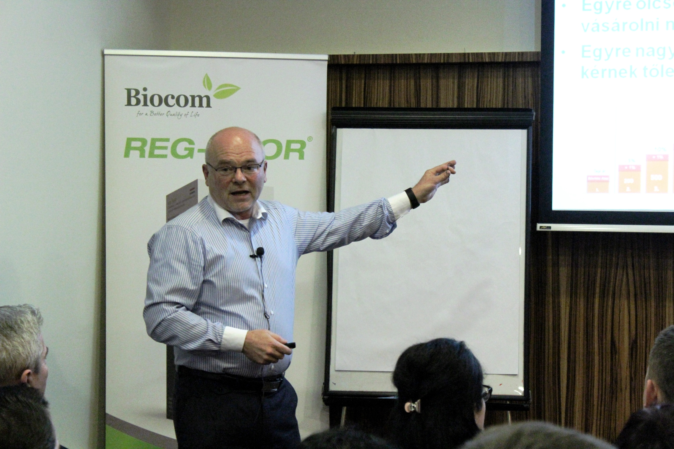 Kónya György azt javasolja, tegyük a Biocomot a felső polcra