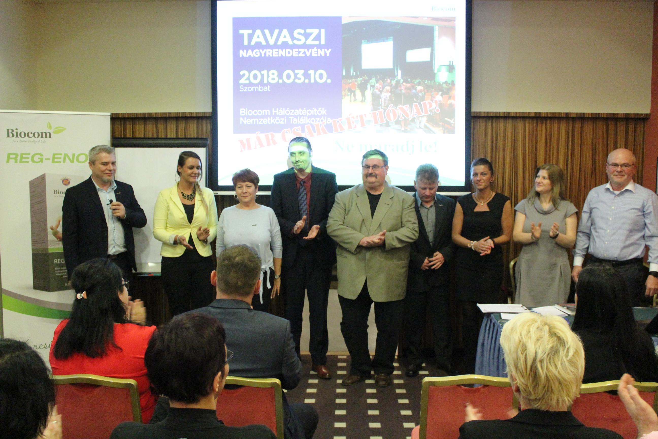 Az előadók csapata