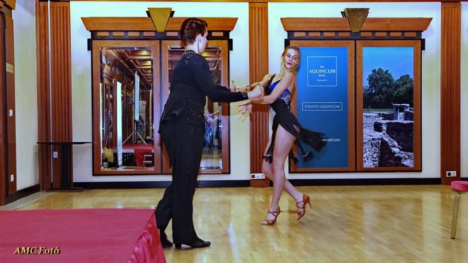 Tóth Boglárka és Rozsnyai Márton tánca