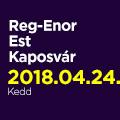 Reg-Enor Est Szabó Sigfriddel Kaposvárott