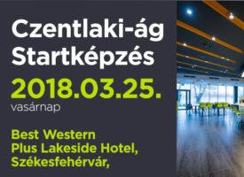 Czentlaki-ág Startképzés március 25-én, vasárnap, Székesfehérvárott