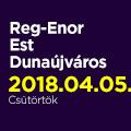 Reg-Enor Est Dunaújvárosban Szabó Sigfriddel