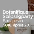 Botanifique Szépségparty Budapesten