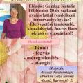 Egészség Est Aszódon Gazdag Katival