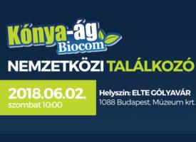 Nemzetközi Találkozó a Kónya-ágon Budapesten, az egészség jegyében