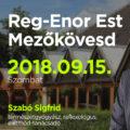 Reg-Enor Est Mezőkövesden Szabó Sigfriddel