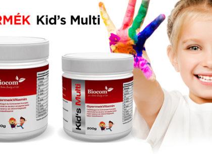 A gyermekeknek kedvezünk vitaminnal: már kapható a Kid's Multi!
