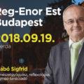 """Reg-Enor Est Budapesten szeptember 19-én – Startol a """"Reg-Enor szezon""""! Készen állsz?"""