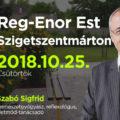 Reg-Enor Est Szabó Sigfriddel Szigetszentmártonban