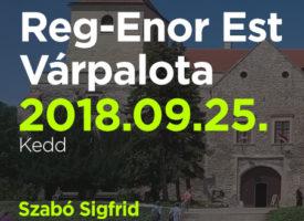 Reg-Enor Est Szabó Sigfriddel Várpalotán