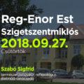 Reg-enor Est Szigetszentmiklós 2018.09.27.