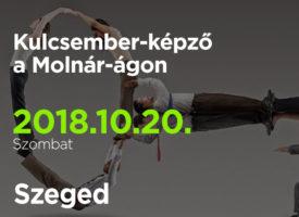 Kulcsember-képző a Molnár-ágon, szombaton, Szegeden