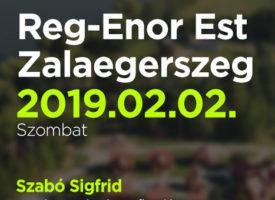 Reg-Enor Est Szabó Sigfriddel Zalaegerszegen