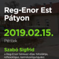 Reg-Enor Est Szabó Sigfriddel Pátyon
